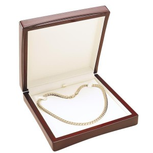 Wooden Jewel Case for Necklace