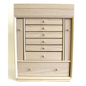 woody princess coffret bijoux en bois. Black Bedroom Furniture Sets. Home Design Ideas