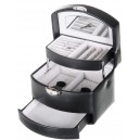 Small Automatic leather Jewelry Box Davidt's