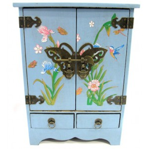 Coffret armoire en bois victoria garden style japonais for Armoire style japonais