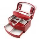Medium Automatic Jewelry Box Davidt's faux leather