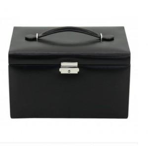 Boîte à bijoux Classique en cuir et synthétique Friedrich 23.
