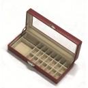 Boîte à bijoux perlier façon cuir