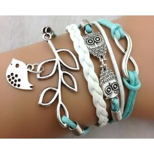 Bracelet blue chain