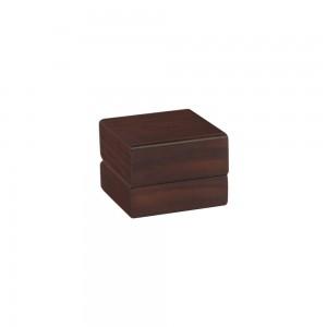 Box wood matte earrings